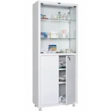Шкаф медицинский ПРАКТИК MD 2 1670/SG