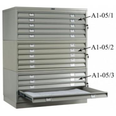 Шкаф ПРАКТИК A1-05/2 (середина)